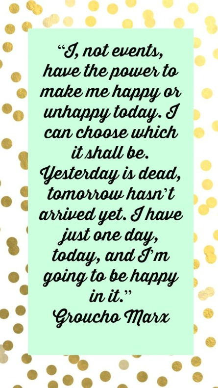 happiness quote groucho marx
